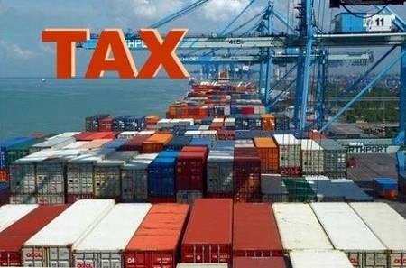 Cách tính thuế đối với cước vận chuyển và khoản phụ thu của hãng tàu